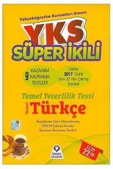 Örnek Akademi TYT Türkçe Süper İkili Çıkmış Sorular Kazanım Kavrama Testleri