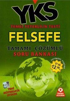 Örnek Akademi Yayınları TYT Felsefe Tamamı Çözümlü Soru Bankası