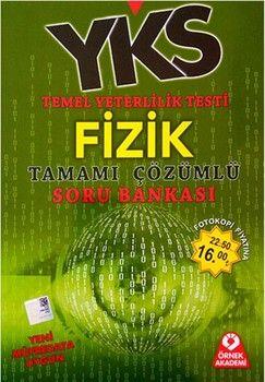 Örnek Akademi Yayınları TYT Fizik Tamamı Çözümlü Soru Bankası