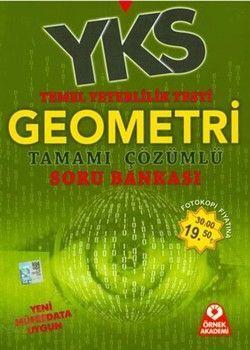 Örnek Akademi Yayınları TYT Geometri Tamamı Çözümlü Soru Bankası