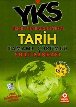Örnek Akademi Yayınları TYT Tarih Tamamı Çözümlü Soru Bankası