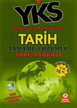 Örnek Akademi Yayınları YKS 1. Oturum TYT Tarih Tamamı Çözümlü Soru Bankası