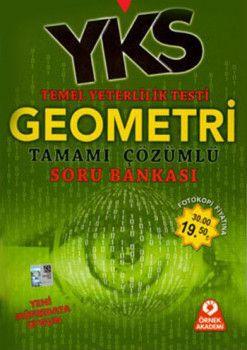 Örnek Akademi Yayınları YKS 1. Oturum TYT Geometri Tamamı Çözümlü Soru Bankası