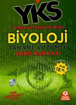 Örnek Akademi Yayınları YKS 1. Oturum TYT Biyoloji Tamamı Çözümlü Soru Bankası