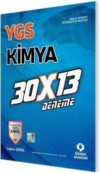 Örnek Akademi YGS Kimya Deneme 30x13