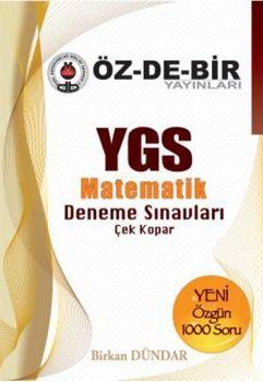 Özdebir Yayınları YGS Matematik Deneme Sınavları Çek Kopar