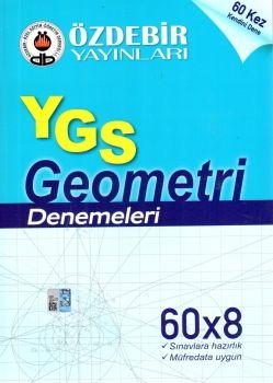 Özdebir Yayınları YGS Geometri 60X8 Denemeleri