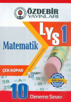 Özdebir Yayınları LYS 1 Matematik 10 Deneme Sınavı