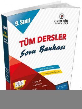 Özdebir Yayınları 9. Sınıf Tüm Dersler Soru Bankası