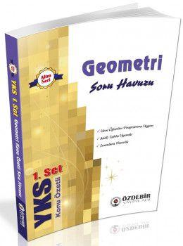 Özdebir Yayınları YKS 1. Oturum TYT Geometri Konu Özetli Soru Havuzu 1. Set