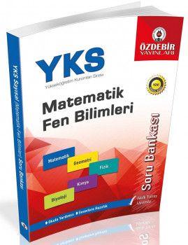 Özdebir Yayınları YKS 1. Oturum TYT Matematik Fen Bilimleri Soru Bankası