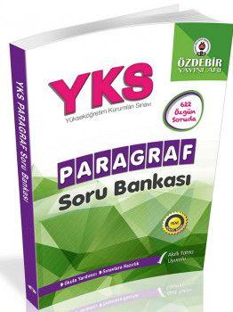 Özdebir Yayınları YKS Paragraf Soru Bankası