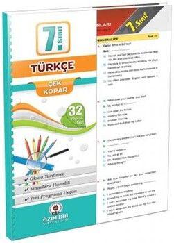 Özdebir Yayınları 7. Sınıf Türkçe Yaprak Test