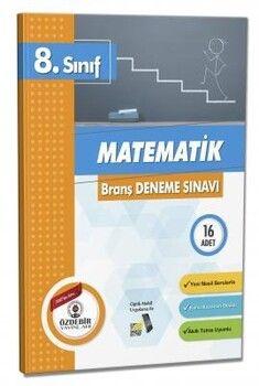 Özdebir Yayınları 8. Sınıf Matematik Branş Deneme