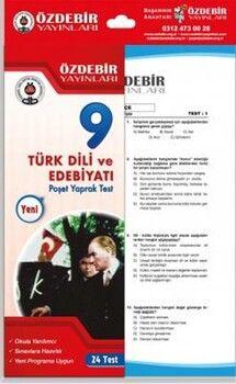 Özdebir Yayınları 9. Sınıf Türk Dili ve Edebiyatı Yaprak Test