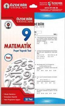 Özdebir Yayınları 9. Sınıf Matematik Yaprak Test