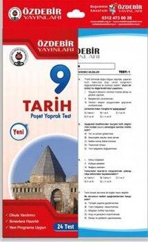Özdebir Yayınları9. Sınıf Tarih Yaprak Test