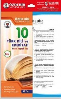 Özdebir Yayınları 10. Sınıf Türk Dili ve Edebiyatı Yaprak Test
