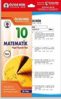 Özdebir Yayınları 10. Sınıf Matematik Yaprak Test