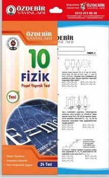 Özdebir Yayınları10. Sınıf Fizik Yaprak Test