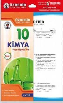 Özdebir Yayınları10. Sınıf Kimya Yaprak Test
