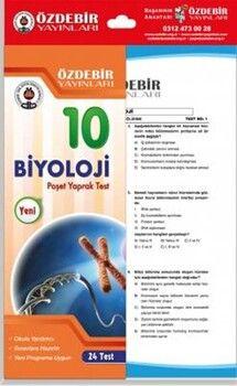 Özdebir Yayınları10. Sınıf Biyoloji Yaprak Test