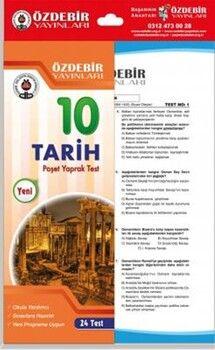Özdebir Yayınları10. Sınıf Tarih Yaprak Test