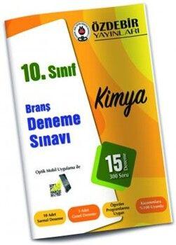 Özdebir Yayınları10. Sınıf Kimya Branş Deneme Sınavı