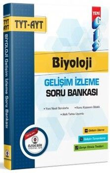 Özdebir YayınlarıTYT AYT Biyoloji GİS Soru Bankası