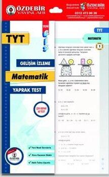 Özdebir YayınlarıTYT Matematik GİS Yaprak Test