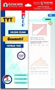 Özdebir YayınlarıTYT Geometri GİS Yaprak Test