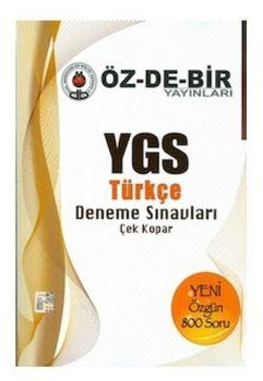 Özdebir YGS Türkçe Deneme Sınavları