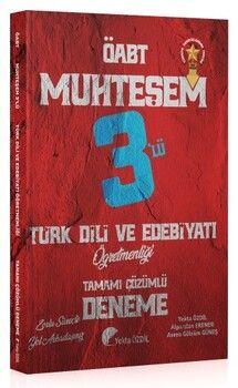 Özdil Akademi 2021 ÖABT Türk Dili ve Edebiyatı Muhteşem 3 lü Deneme Çözümlü