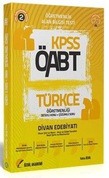 Özdil Akademi 2021 ÖABT Türkçe Öğretmenliği 2. Kitap Divan Edebiyatı Konu Anlatımlı