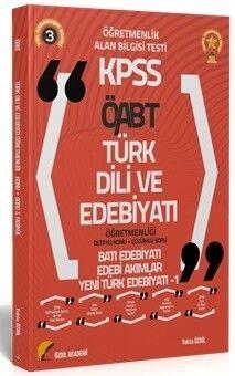 Özdil Akademi 2021 ÖABT Türk Dili ve Edebiyatı 3. Kitap Yeni Türk Edebiyatı 1 Konu Anlatımlı