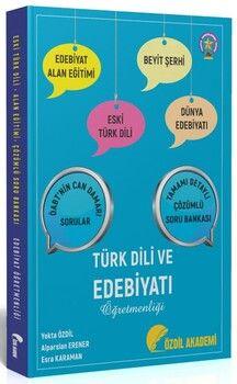 Özdil Akademi 2021 ÖABT Edebiyat Öğretmenliği Eski Türk Dili Alan Eğitimi Beyit Şerhi Tamamı Çözümlü Soru Bankası
