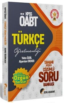 Özdil Akademi  ÖABT Türkçe Soru Bankası