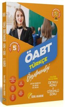 Özdil Akademi ÖABT Türkçe 5. Kitap Çocuk Edebiyatı Konu Anlatımlı Soru Bankası