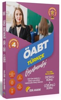 Özdil Akademi ÖABT Türkçe 4. Kitap Yeni Türk Edebiyatı 2 Konu Anlatımlı Soru Bankası