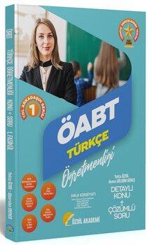 Özdil Akademi  ÖABT Türkçe 1. Kitap Halk Edebiyatı Konu Anlatımlı Soru Bankası