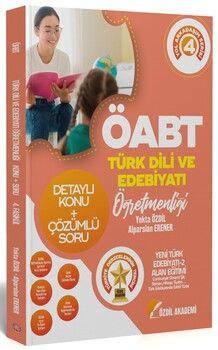 Özdil Akademi ÖABT Türk Dili ve Edebiyatı 4. Kitap Yeni Türk Edebiyatı 2 Konu Anlatımlı Soru Bankası