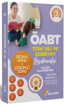 Özdil Akademi ÖABT Türk Dili ve Edebiyatı 3. Kitap Yeni Türk Edebiyatı 1 Konu Anlatımlı Soru Bankası