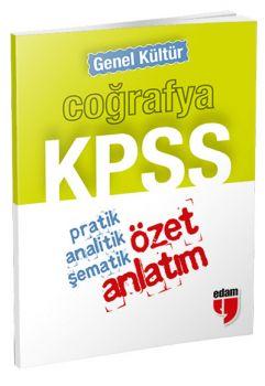 Özet Yayınları KPSS Genel Kültür Coğrafya Cep Özet Anlatım