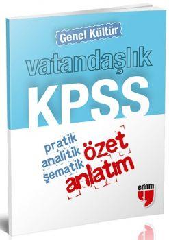 Özet Yayınları KPSS Genel Kültür Vatandaşlık Cep Özet Anlatım