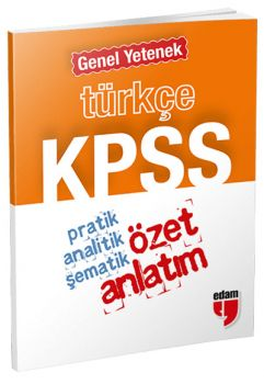 Özet Yayınları KPSS Genel Yetenek Türkçe Cep Özet Anlatım