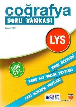 Özet Yayınları LYS Coğrafya Soru Bankası