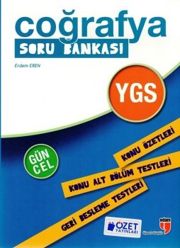 Özet Yayınları YGS Coğrafya Soru Bankası