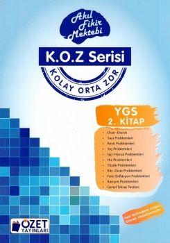 Özet Yayınları YGS Matematik KOZ Serisi 2. Kitap