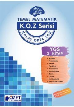 Özet Yayınları YGS Matematik KOZ Serisi 3. Kitap