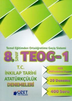 Özet Yayınları 8. Sınıf TEOG 1 T.C. İnkılap Tarihi ve Atatürkçülük 20 Deneme